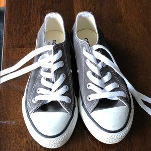 Kids Gray Converse size 12